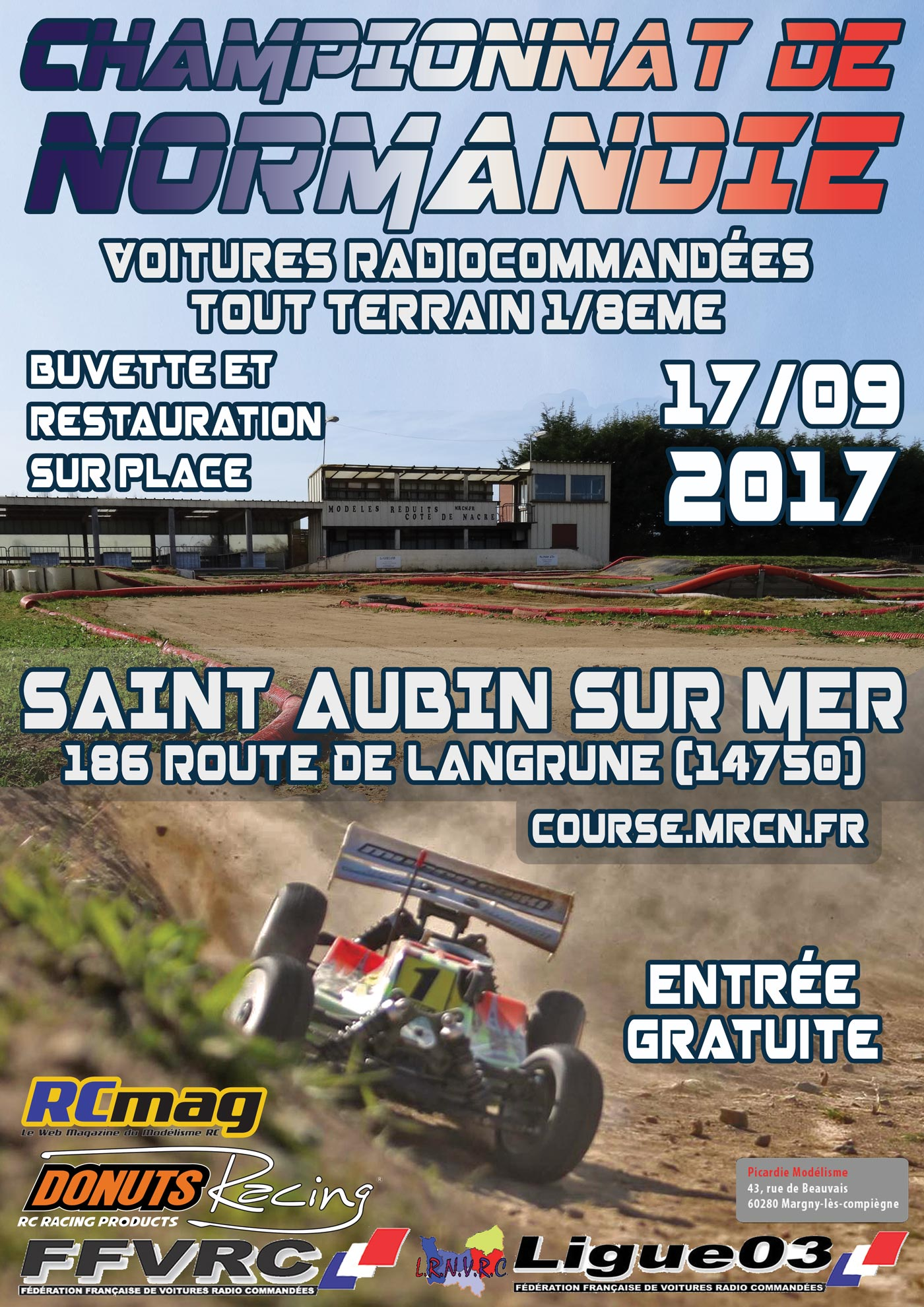 Championnat de Normandie TT 1/8 17/09/2017